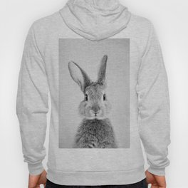 Rabbit - Black & White Hoody