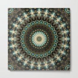 Elegant Mandala Metal Print