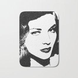 Lauren Bacall Bath Mat
