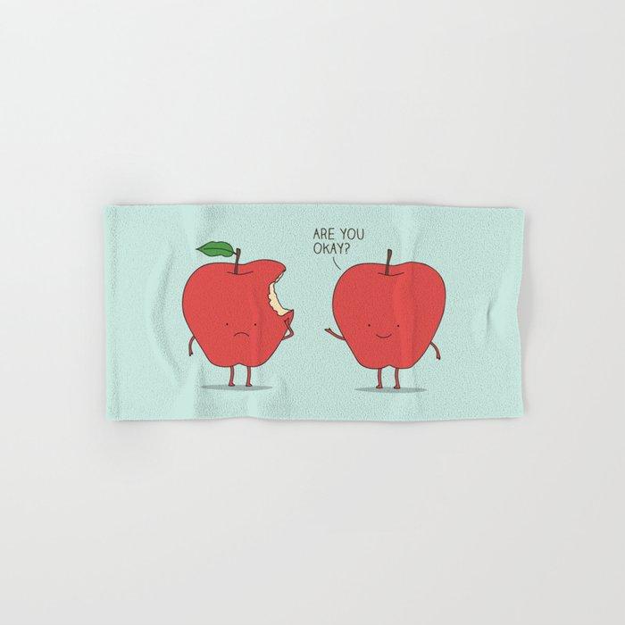 Apple Care Hand & Bath Towel