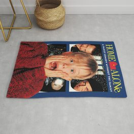 Home Alone Poster Rug