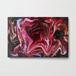 Universum Red Gate Metal Print