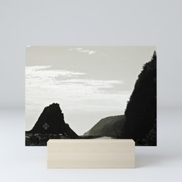 Haute-Gaspesie Coastal Road Mini Art Print