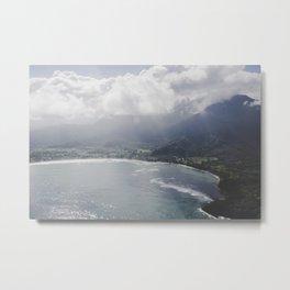 Hanalei Bay - Kauai, Hawaii Metal Print