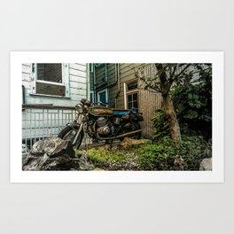 Backyard Benelli Art Print