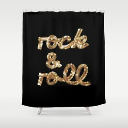 Sequins Shower Curtains