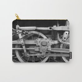 locomotive wheels Carry-All Pouch