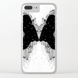 Through universe eyes Clear iPhone Case