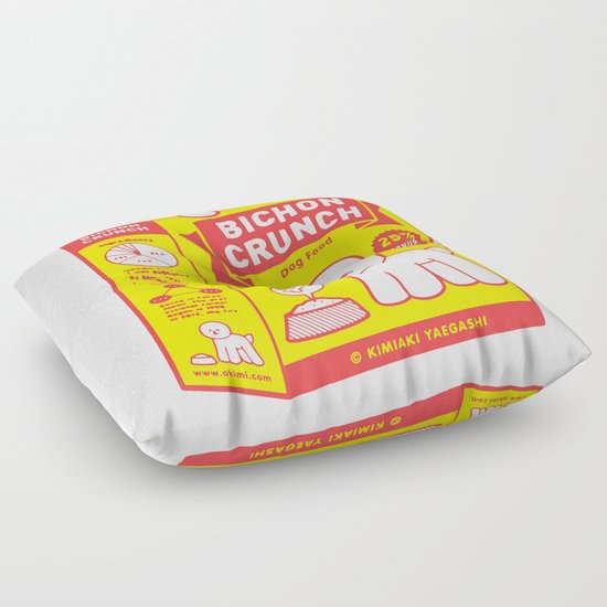 BICHON CRUNCH Floor Pillow
