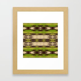 American Indian (Earth Tones) Framed Art Print