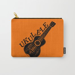Ukulele Text And Image Carry-All Pouch