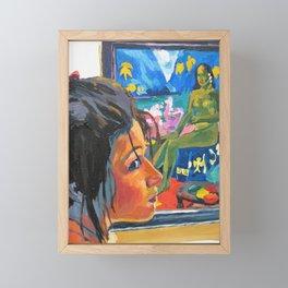 Tahiti Girl Framed Mini Art Print