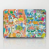 monster inc iPad Cases featuring Chez Monster by Clayton (CTON) Hanmer