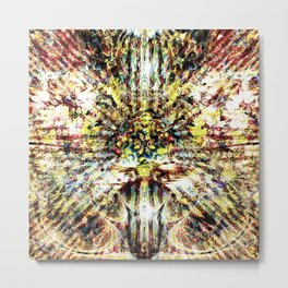 Synaptic Overload Metal Print