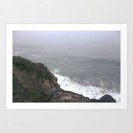 Land's End, Oceans Begin Art Print
