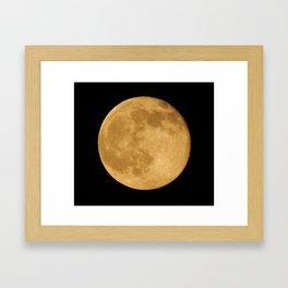 Friday June 13 Full Honey Moon Framed Art Print