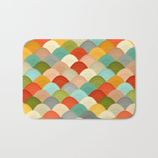yarn hill dollops Bath Mat