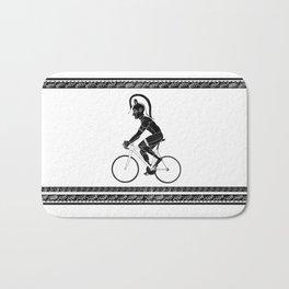 Cyclist of Spartacus Bath Mat