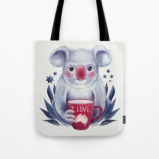 I♥Australia Tote Bag