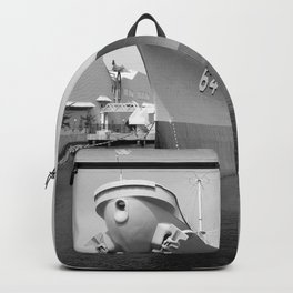 USS WISCONSIN photography Backpack