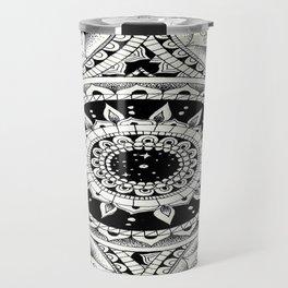Mandala Madness Travel Mug