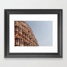 Wind Palace Framed Art Print