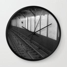 NY Subway Wall Clock