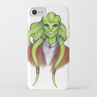 kit king iPhone & iPod Cases featuring Kit Fisto by lorna-ka
