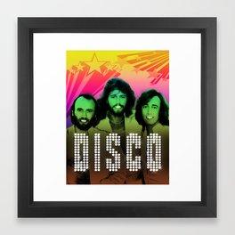 D.I.S.C.O! Framed Art Print