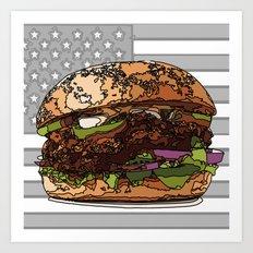 USburger Art Print