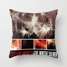 Captain America: The Winter Soldier Throw Pillow