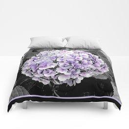 Flower   Flowers   BNW Purple Hydrangea Comforters