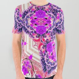 bouquet-lined bridges mandala All Over Graphic Tee