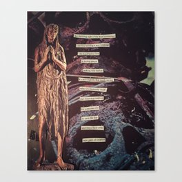 A Loving Prayer Canvas Print