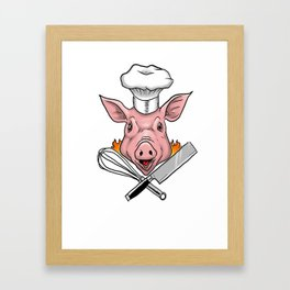 chef  Framed Art Print