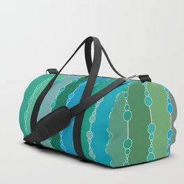 Multi-faceted decorative lines 5 Duffle Bag