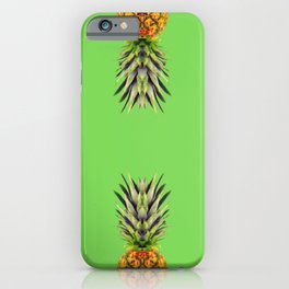 When life gives you a Hard time, Keep calm and eat a Pineapple iPhone Case