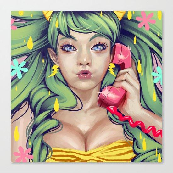 LUM NO LOVE SONG Canvas Print