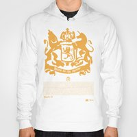narnia Hoodies featuring The King by John Choi King
