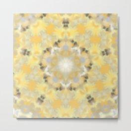 Orange and Yellow Kaleidoscope 4 Metal Print