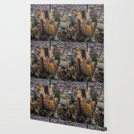 New York skyline i Wallpaper