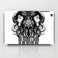 hero iPad Cases featuring Hero. by Ale PBrey