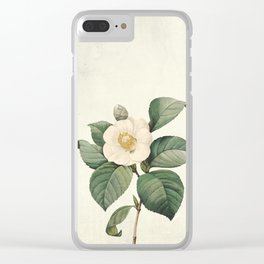 Vintag flower patter1 Clear iPhone Case