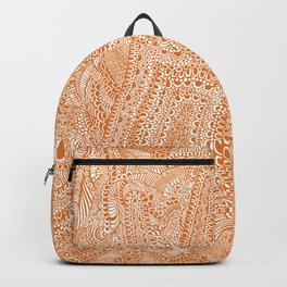 Carved Hand Pattern Backpack