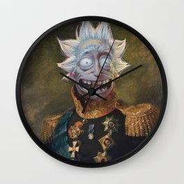 General Rick portrait | Fan Art Wall Clock