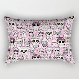 sugar skull tastic Rectangular Pillow