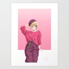 80's Baby Art Print