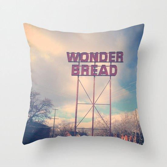 Always Wonder Throw Pillow