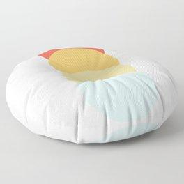 4 Classic Retro Dots Abnoba Floor Pillow