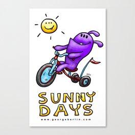 Sunny Days! Canvas Print